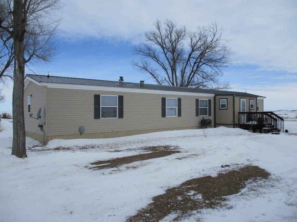 Buying A Mobile Home In South Dakota Single Wide With Enclosed Porch