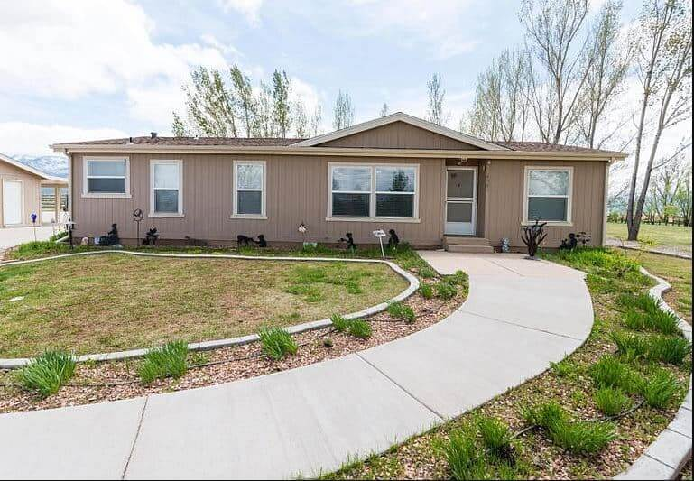 Buying A Mobile Home In Utah Double Wide With Sidewalk