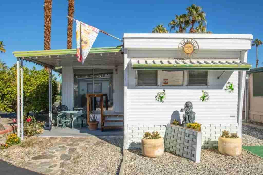 California mobile home exterior