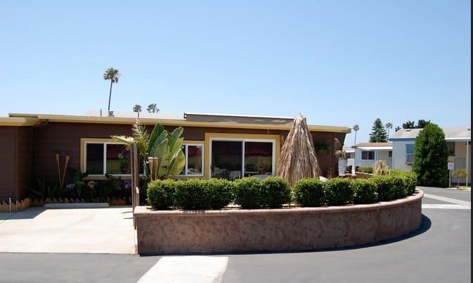 California Single Wide Mobile Home Contemporary Style