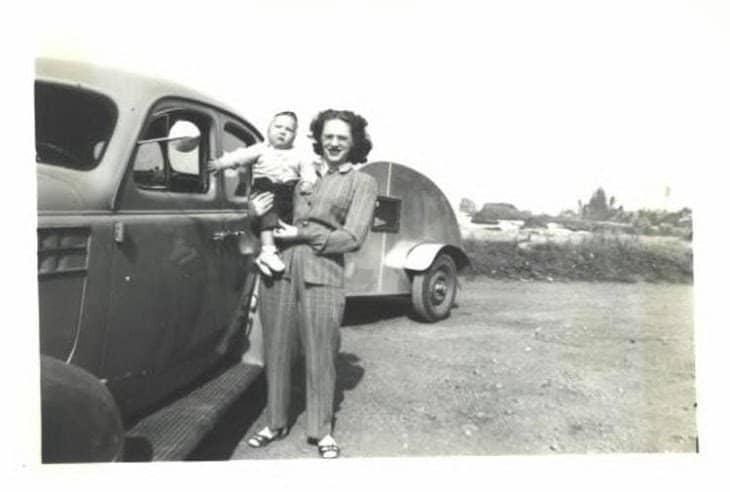 Camping Trip 1949 Oregon 1