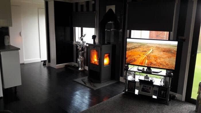 caravan wood burner