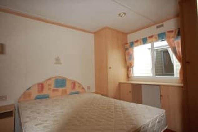 Caravan Master Bedroom Before