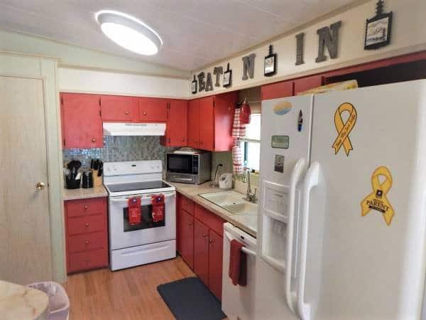 Cheap mobile homes-florida kitchen
