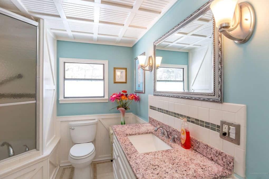 Coastal Single Wide Bathroom Sink