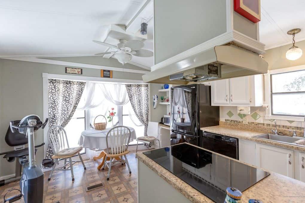 Coastal Single Wide Kitchen