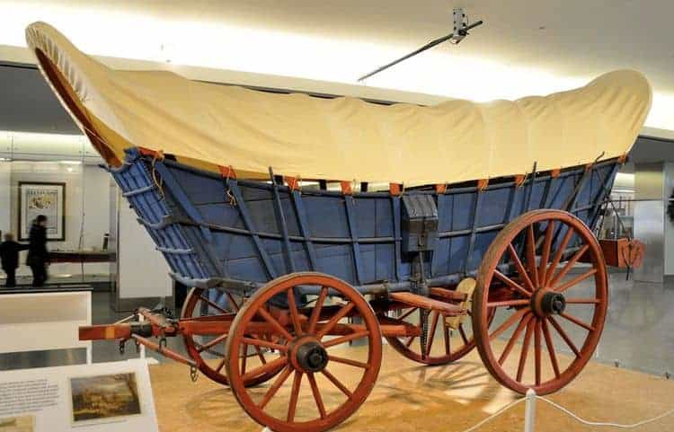 Conestoga wagons the first mobile homes