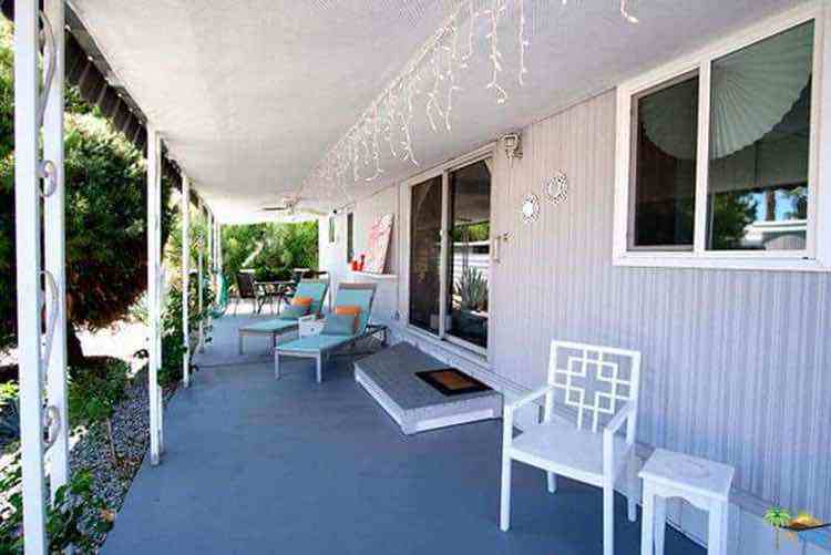 Cool Carport Decor Painting The Metal Siding On A Mobile Home