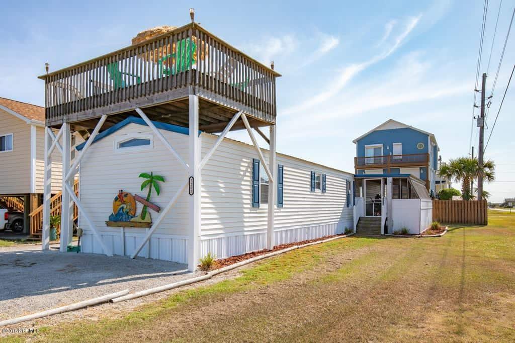 Cool roof decks on mobile home mobile homen remodels fb gp