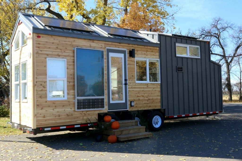 Cool tiny homes solar home exterior
