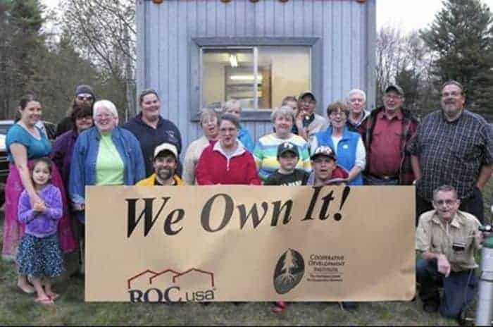 Coowners of resident-owned manufactured home community