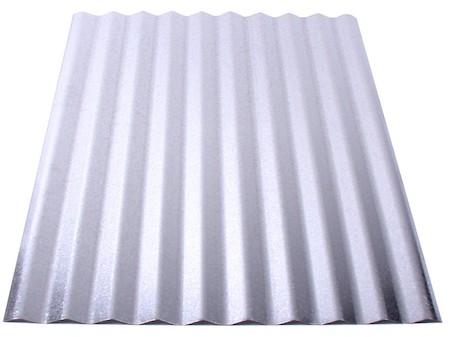 Corrugated steel roof panel