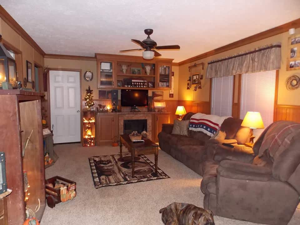 Country Decor In A Manufactured Home 16