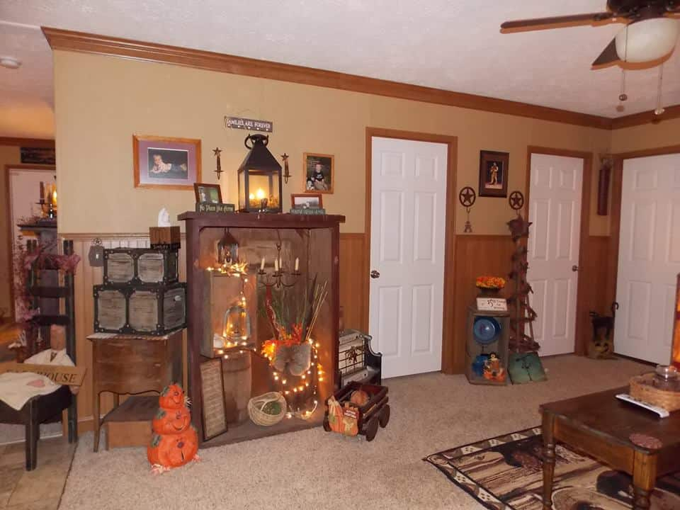 Country Decor In A Manufactured Home 18