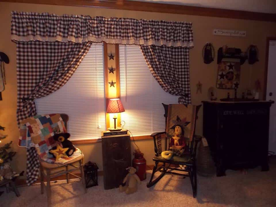 Country Decor In A Manufactured Home 9