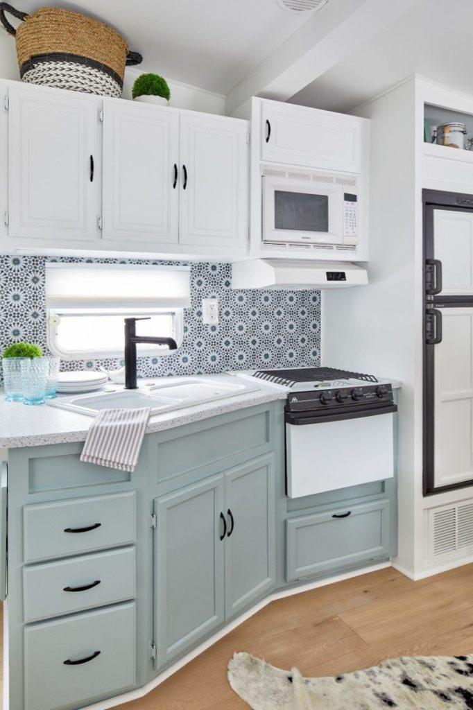 Crisp and clean kitchen