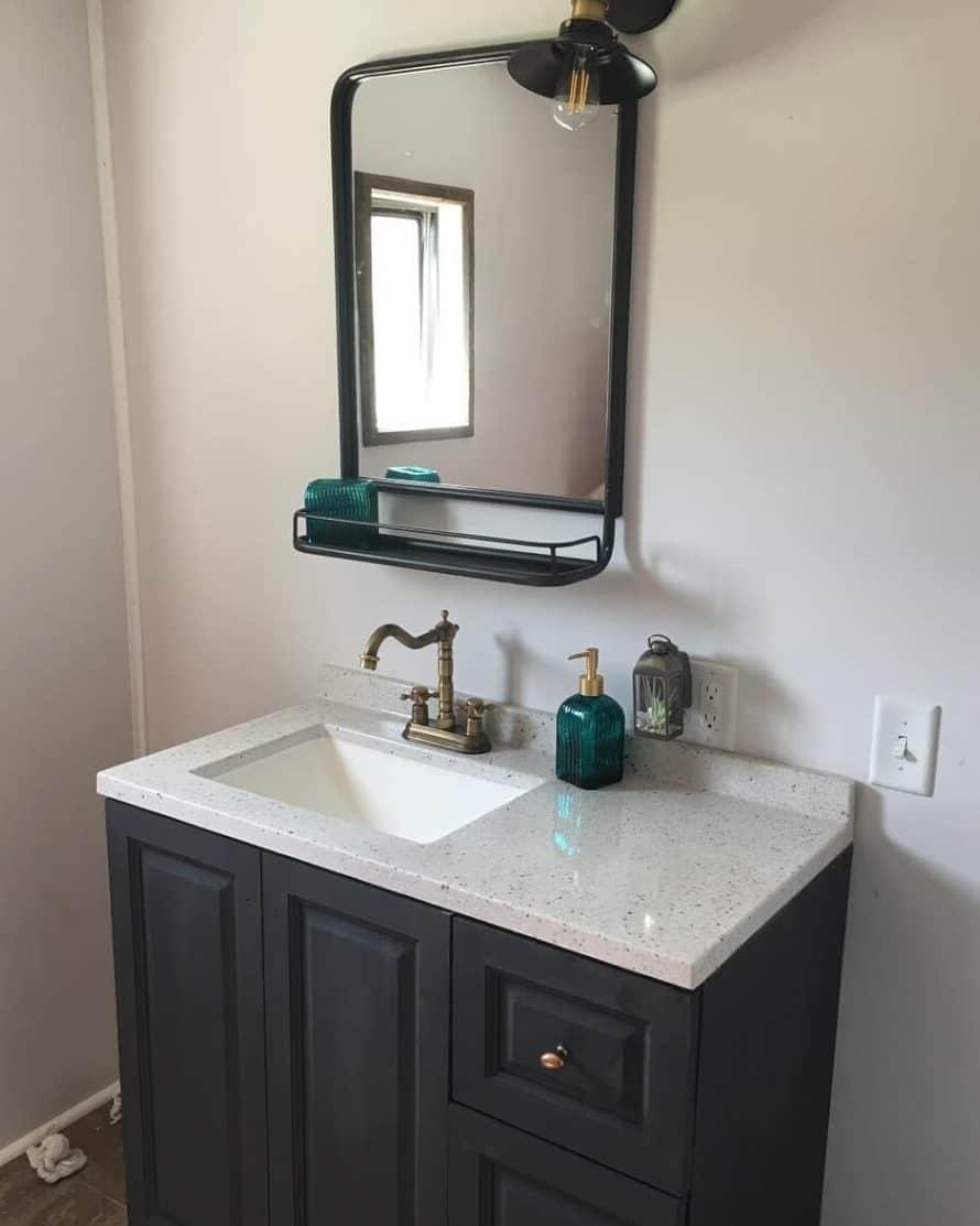 Primitive country simple bathroom