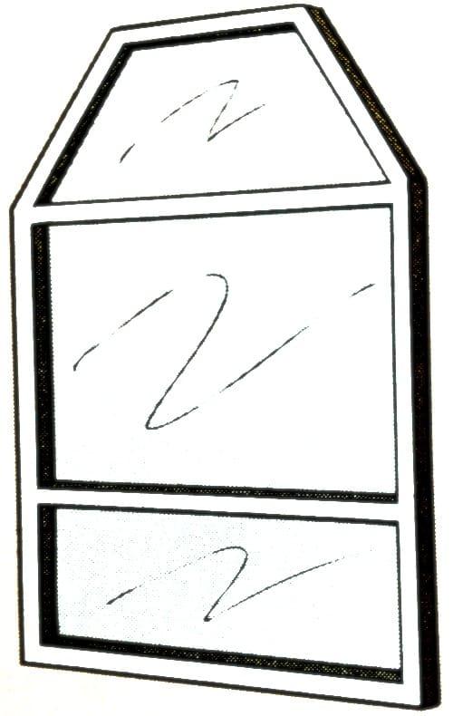 Custom Shape Window In Mobile Home