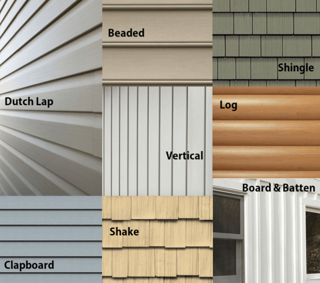 Different types of home siding - mandinifity