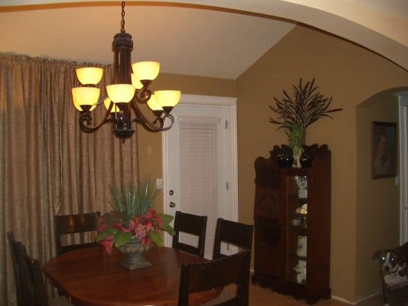dining room after manufactured-home-remodel