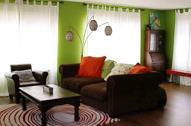Divine Double Wide Living Room
