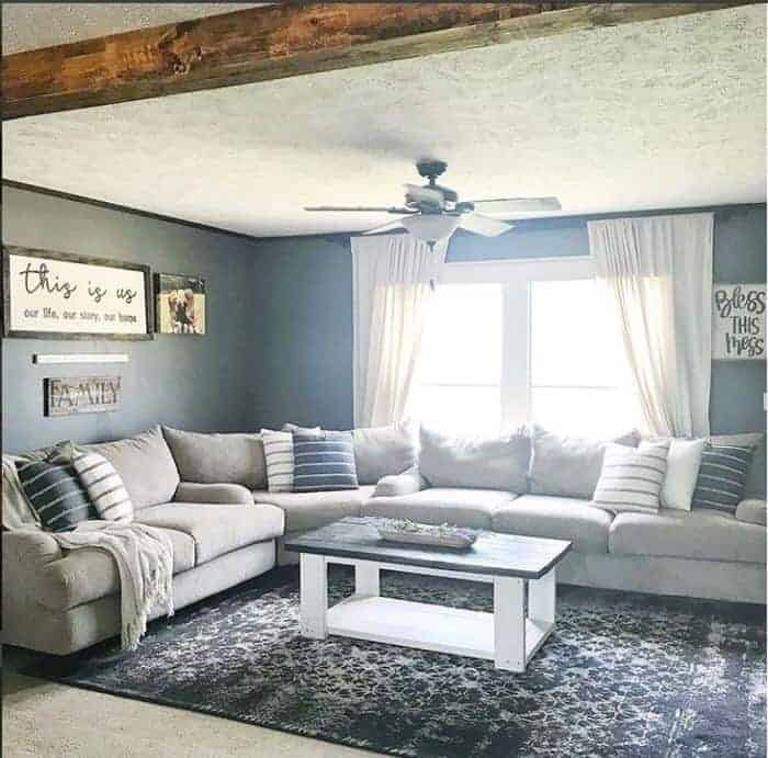 double wides with farmhouse decor modern farmhouse decor living room