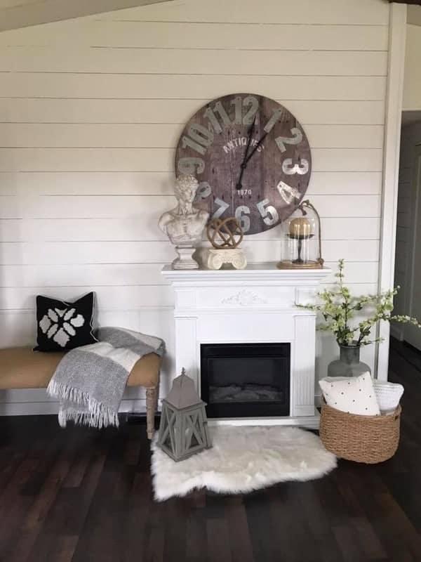 double wides with farmhouse decor shiplap farmhouse decor living room
