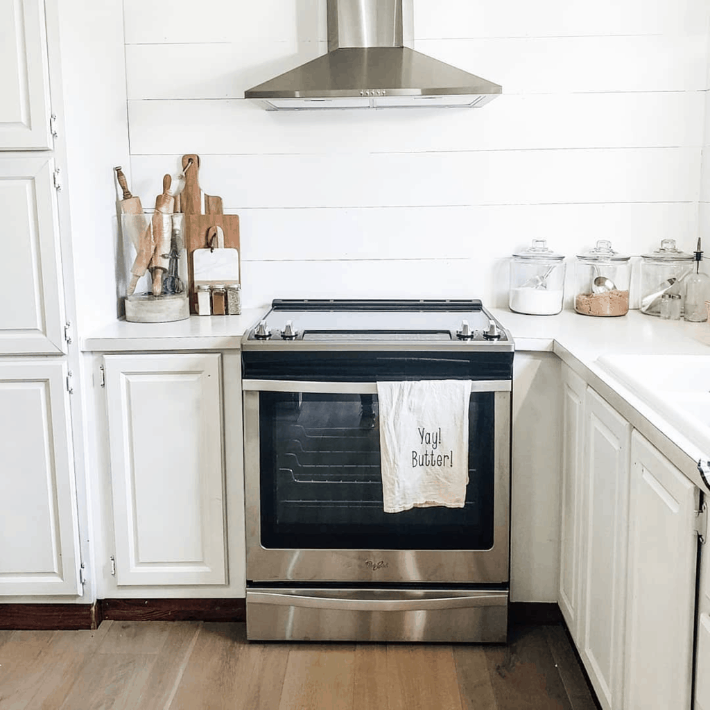 Eclectic Farmhouse Double Wide Mobile Home Kitchen Remodel After00007