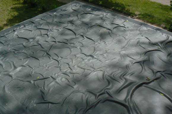 Epdm Roof Bubbles 1