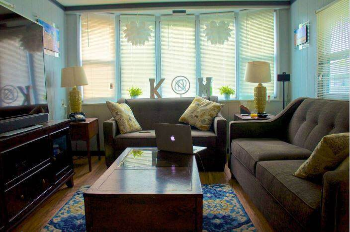 Example Of Using Blinds In Living Room