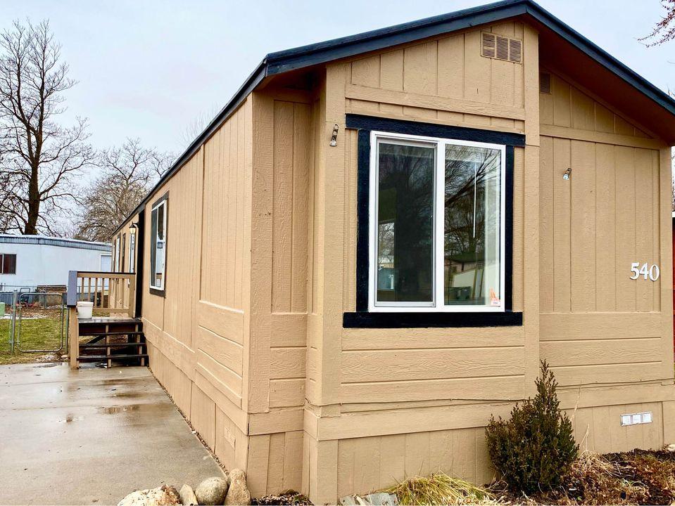 Exceptional mobile homes idaho exterior