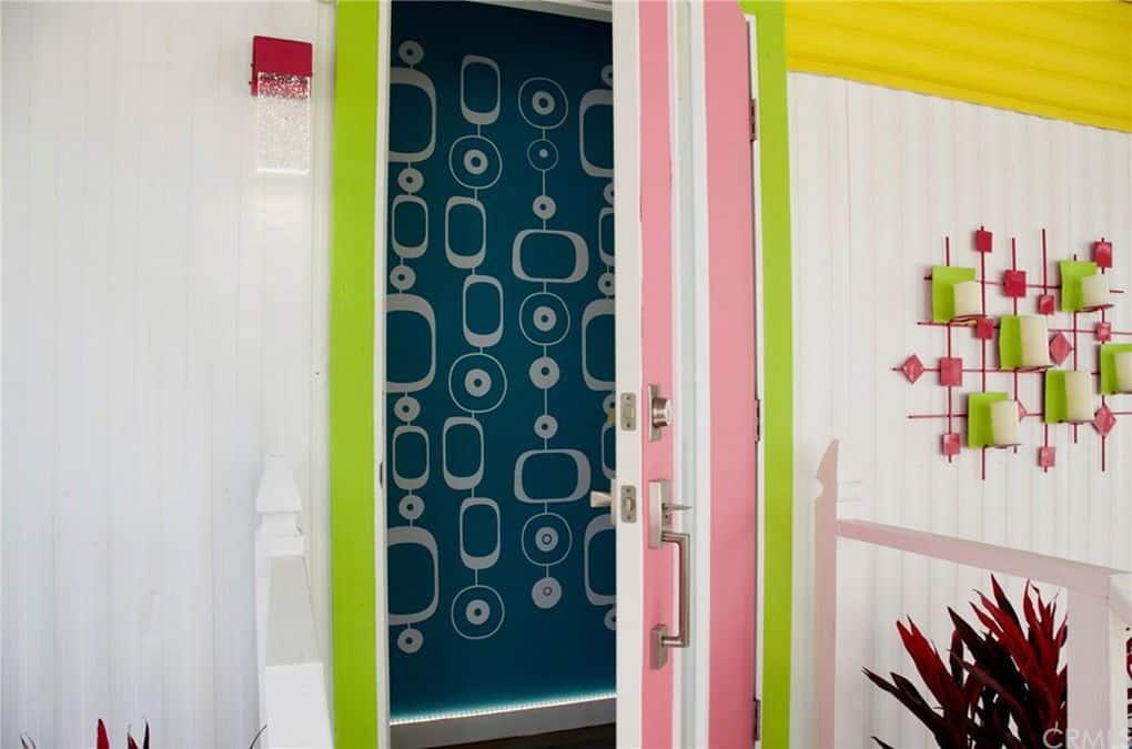 Exterior Door And Cool Light