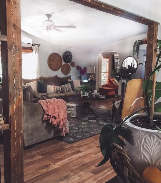 Faded charm living interior