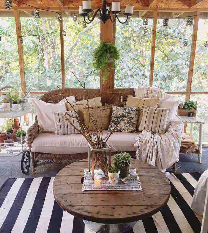 Farmhouse porch decor ashley james