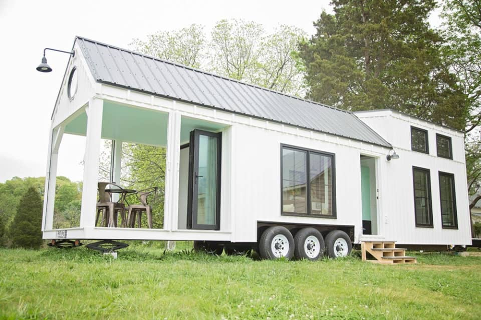 Farmhouse Tiny Home Exterior