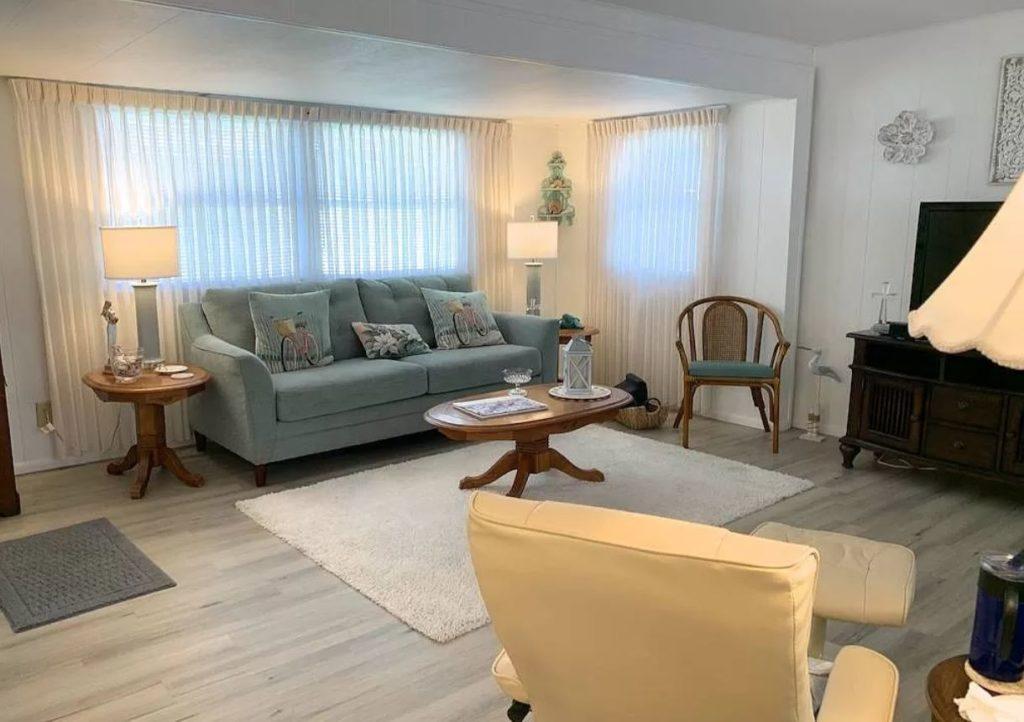 Florida two bedroom living room