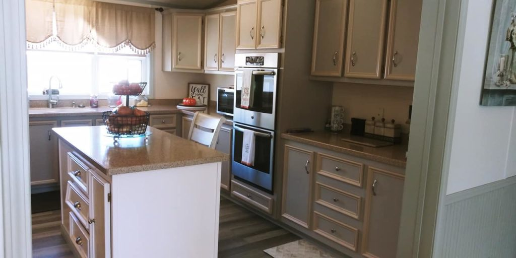 Franklin double wide kitchen cabinets