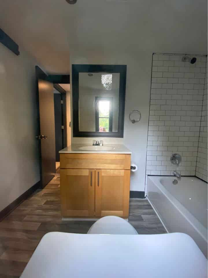 Georgia Single Wide Bathroom