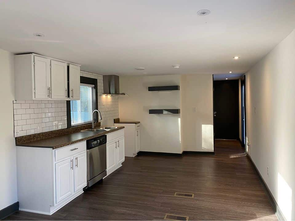 Georgia single wide kitchen