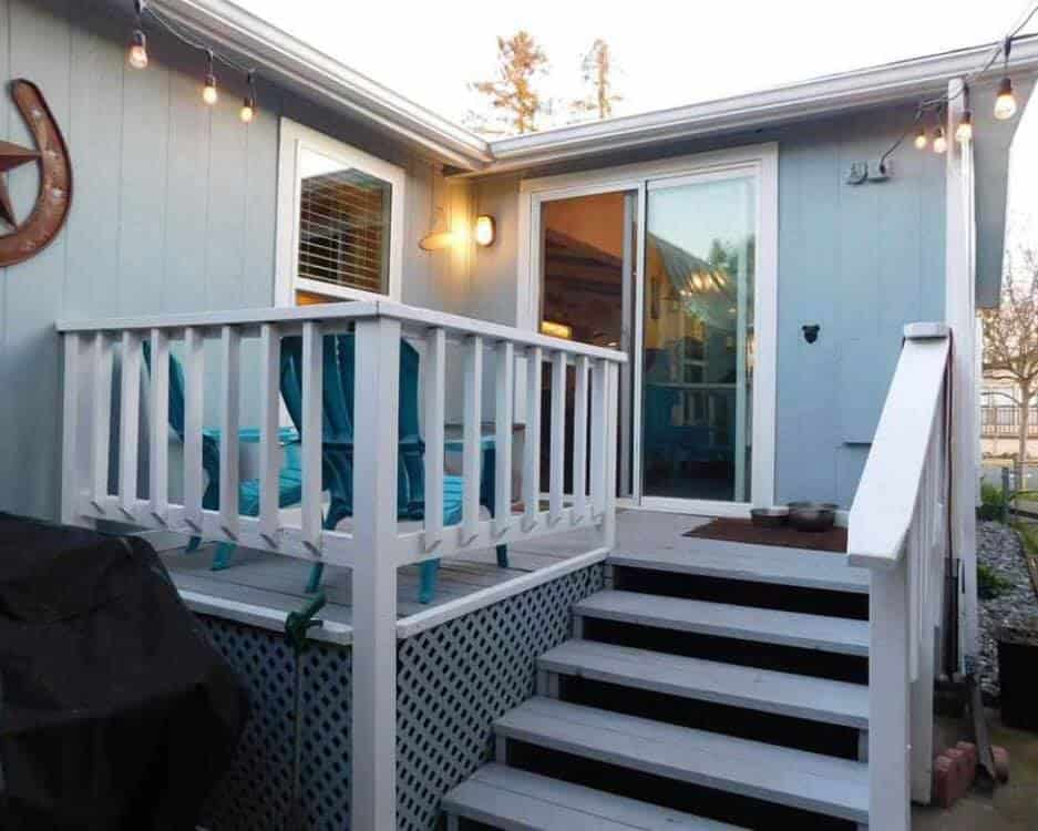 Great Mobile Home Decks Christina Sandoval Sorensen