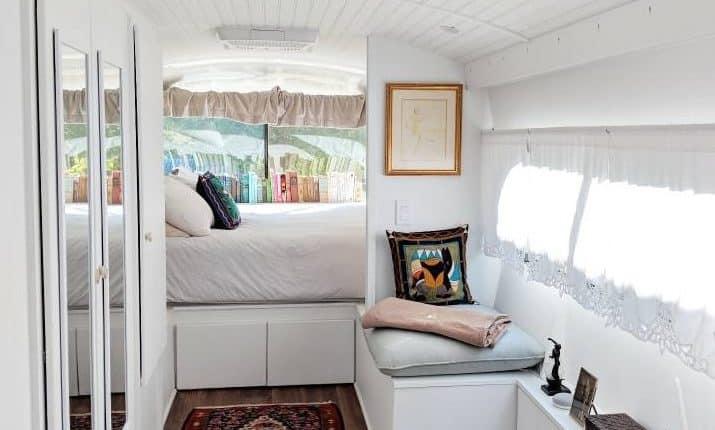 Greyhound Interior Into Bedroom