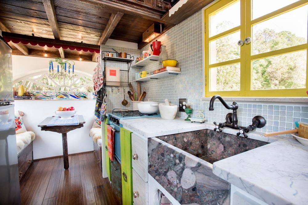 Gypsy mermaid kitchen