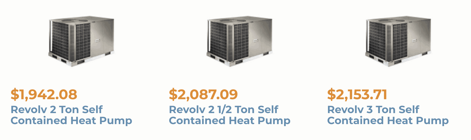 heat pumps for mobile homes - priced