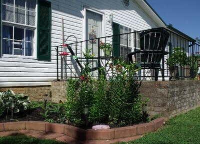 Homesteading Home Exterior