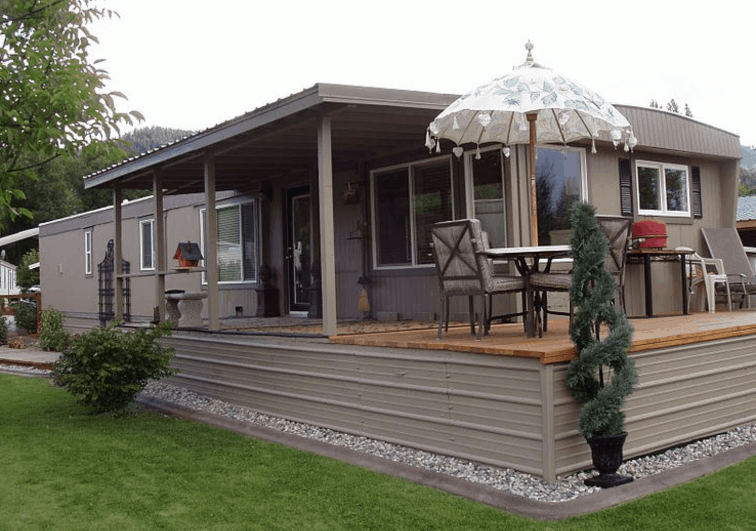 Homette mobile home remodel copy