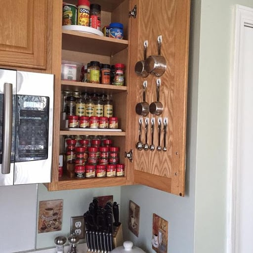 Hooks And Spice Rack