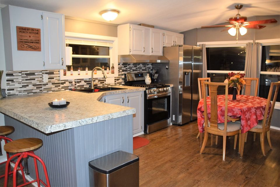 Hot manufactured homes michigan kitchen