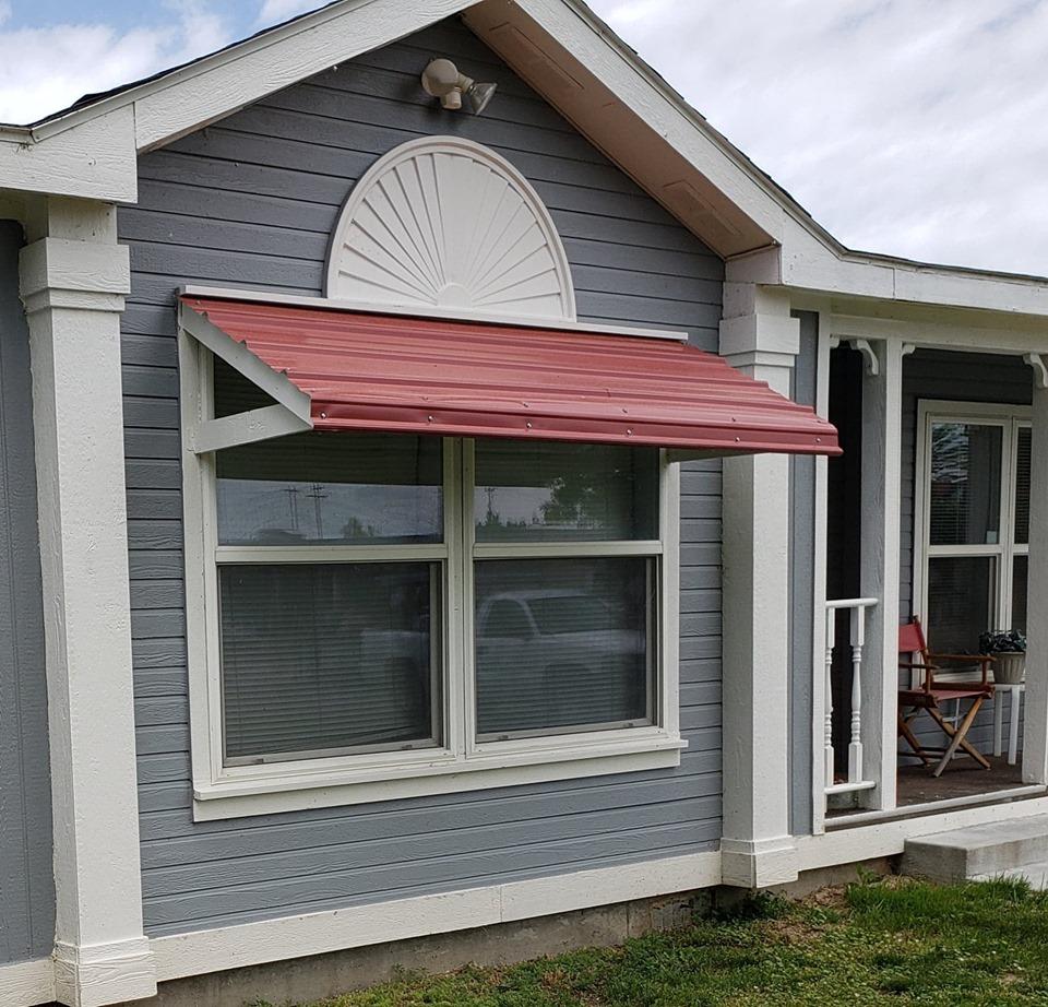 Idaho double wide awnings 1