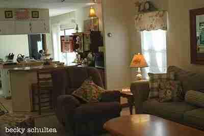 Illustrators living room