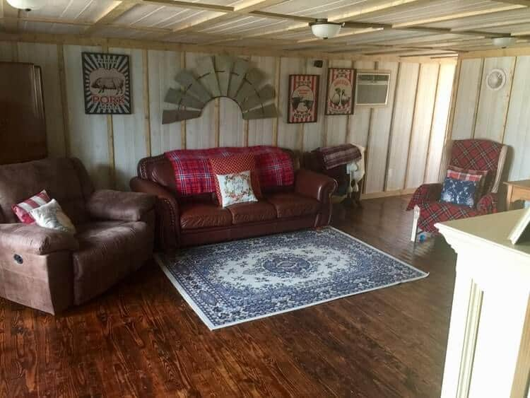 Interior Of A Mobile Home Addition